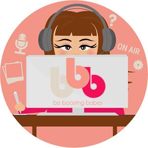 biz boosting babes podcast boordevol tips en tricks om je online presence een boost te geven