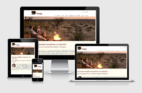 Web Design Suikerbossie Africa Travel