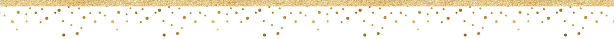 element-gold banner and gold dots divider
